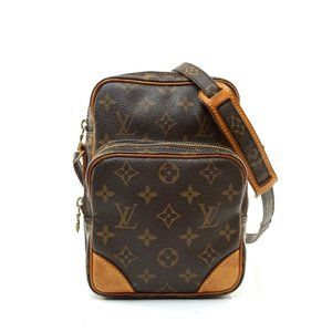 Auth Louis Vuitton Amazon Pm Crossbody #7924L28